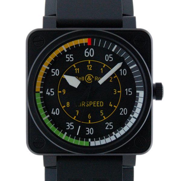 ベル&ロス BELL&ROSS BR01-92 AIRSPEED エアスピード ブラック 46mm ラバー PVD 999本限定 新品