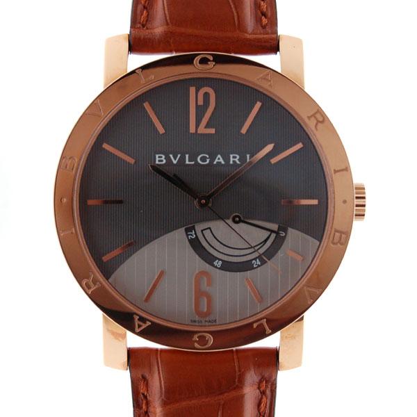 ブルガリ BVLGARI ブルガリブルガリ パワーリザーブ BBP41BGL メンズ K18PG 新品