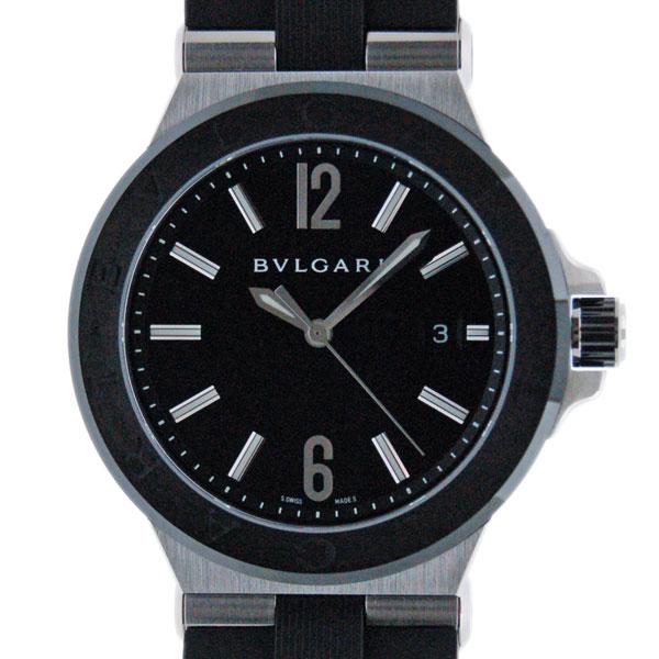 ブルガリ BVLGARI ディアゴノ セラミック DG42BSCVD 42mm メンズ 自動巻 ブラック ラバー 新品