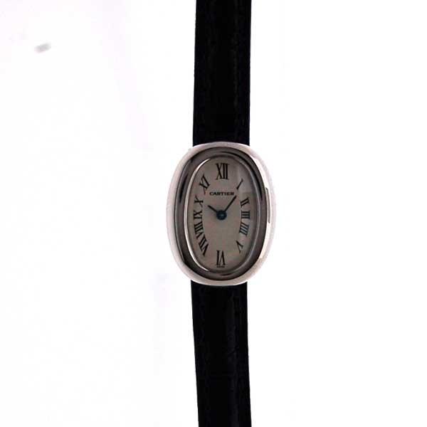 カルティエ CARTIER ミニベニュアール W1518956 K18WG レディース クォーツ 新品