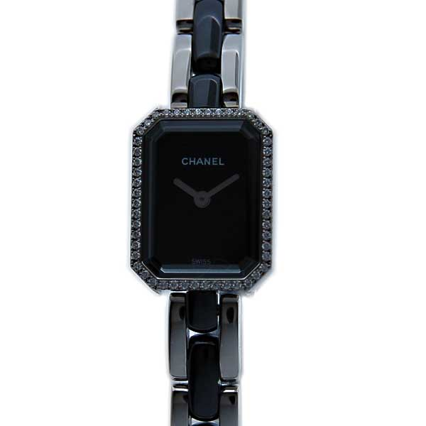 シャネル CHANEL プルミエール セラミック H2163 ケースダイヤ 新品