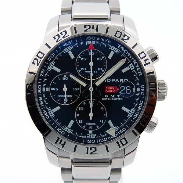 ショパール CHOPARD ミッレミリアGT XL GMTクロノ 自動巻 15/8992-3001 ブラック 新品