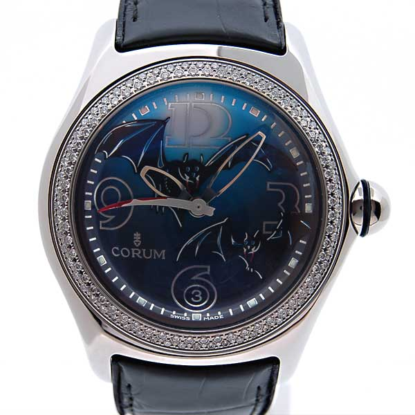 コルム CORUM バブルバット ベゼルダイヤ 82.157.47 2005年限定モデル 新品