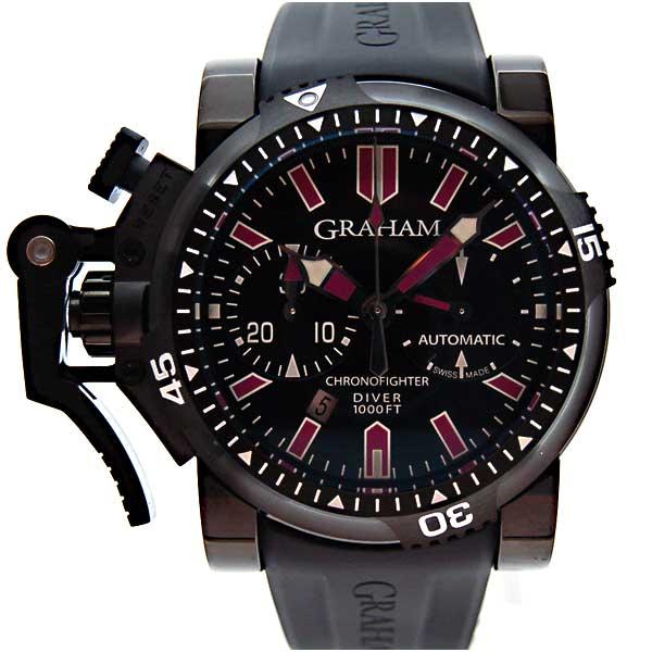 グラハム GRAHAM クロノファイター オーバーサイズ ディープパープル 20VEZ.B24B.K10B 47mm PVD 新品