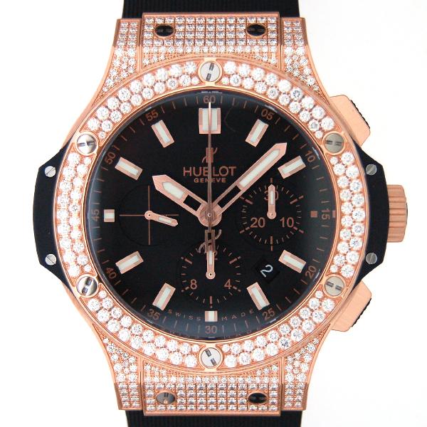 ウブロ HUBLOT ビッグバン エボリューション ゴールドダイヤモンド 301.PX.1180.RX.1704 44mm K18RG 自動巻 新品