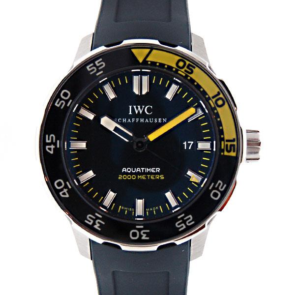 IWC インターナショナルウォッチカンパニー アクアタイマー IW356802 SS ラバー 2000m防水 新品