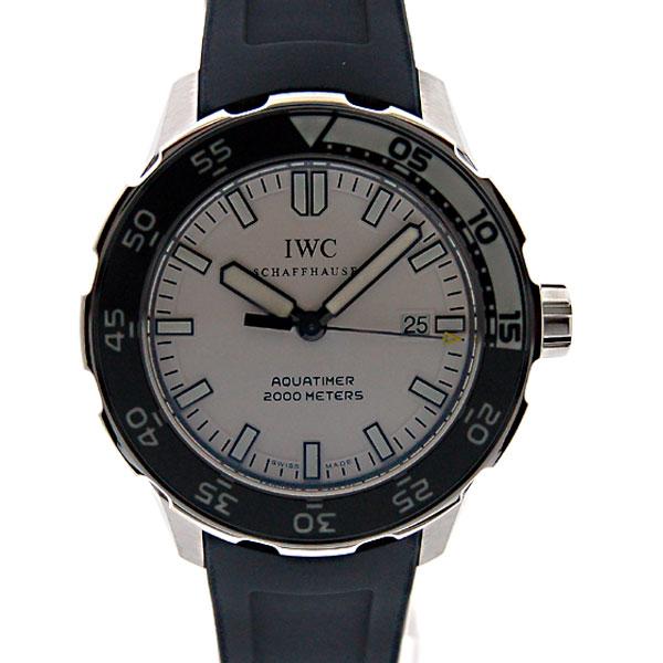 IWC インターナショナルウォッチカンパニー アクアタイマー IW356806 ホワイト SS ラバー 2000m防水 新品