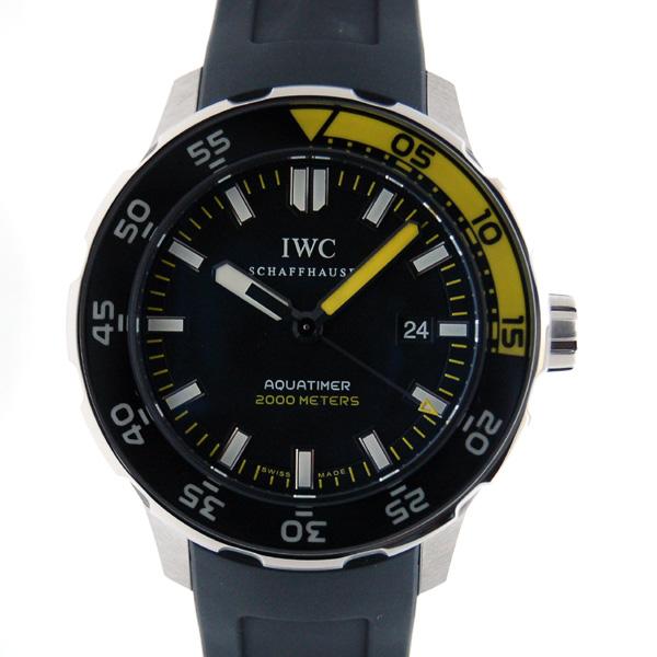 IWC インターナショナルウォッチカンパニー アクアタイマー IW356810 SS ラバー 2000m防水 新品
