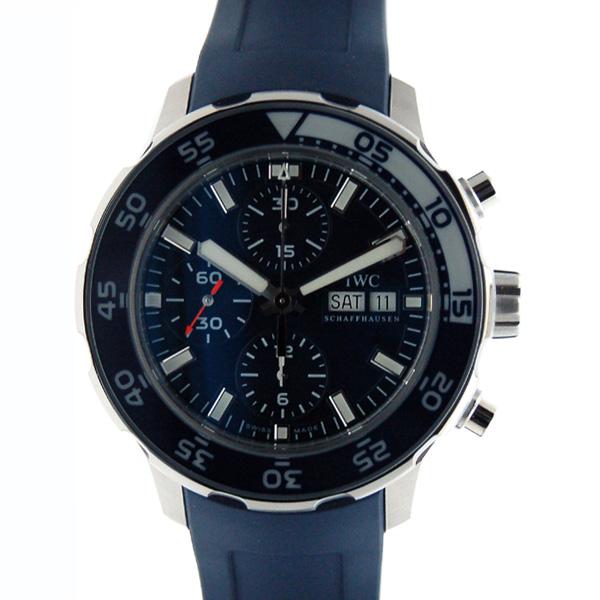 IWC インターナショナルウォッチカンパニー アクアタイマークロノ  IW376711 ブルー SS ラバー 新品