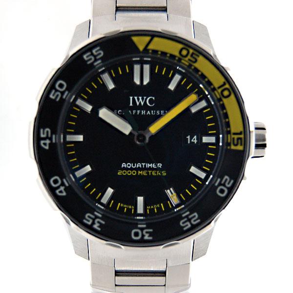 IWC インターナショナルウォッチカンパニー アクアタイマー IW356808 SS 自動巻 2000m防水 新品