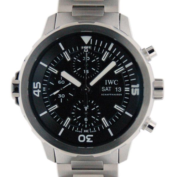 IWC インターナショナルウォッチカンパニー アクアタイマークロノグラフ IW376804 SS 44mm 新品