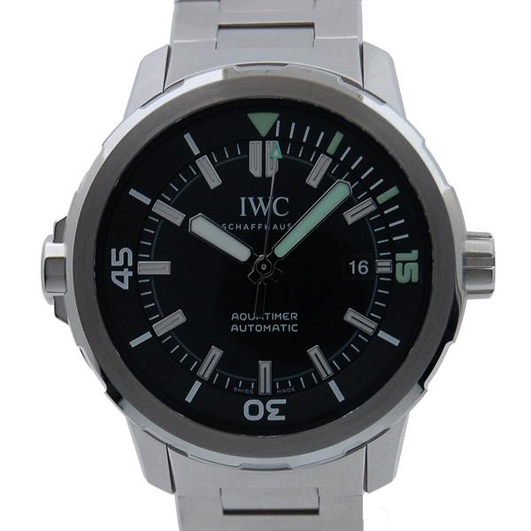 IWC アクアタイマー オートマチック IW329002 SS 42mm ブラック 新品