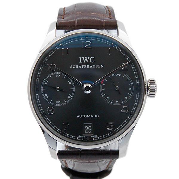IWC ポルトギーゼ 7デイズ IW500106 ホワイトゴールド グレー 新品