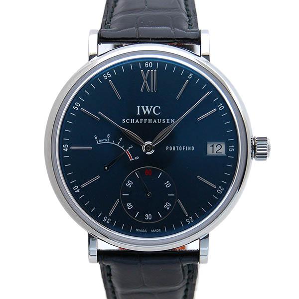 IWC ポートフィノ ハンドワインド 8デイズ IW510106 SS 45mm ブルー サントーニ革 新品