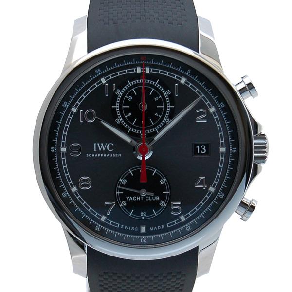 IWC インターナショナルウォッチカンパニー ポルトギーゼ ヨットクラブ クロノグラフ IW390503 SS グレー 新品