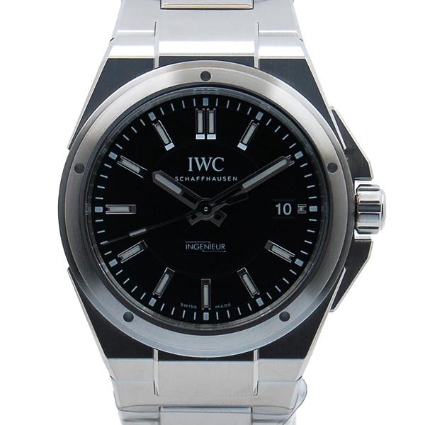 IWC インジュニア オートマティック IW323902 40mm SS ブラック SS 新品
