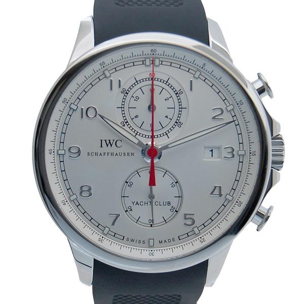 IWC ポルトギーゼ ヨットクラブ クロノグラフ IW390206 シルバー 新品