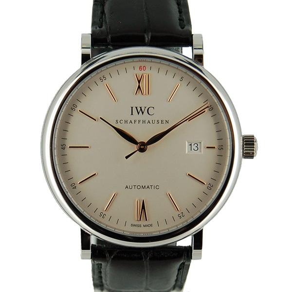 IWC インターナショナルウォッチカンパニー ポートフィノ IW356517 SS 40mm シルバー 革ベルト 新品