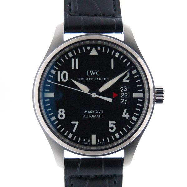 IWC マーク17 IW326501 ブラック SS 41mm 革 新品