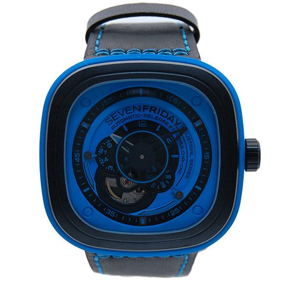 セブンフライデー SEVEN FRIDAY インダストリアル エッセンス SFP1/04 BLUE 正規取扱い品 新品
