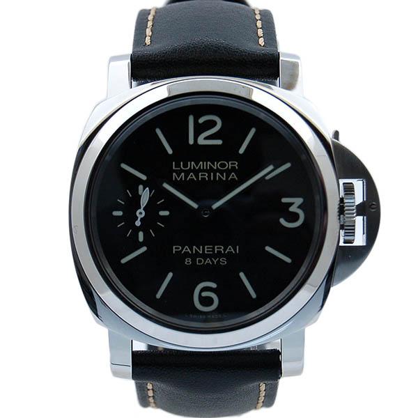 パネライ PANERAI ルミノールマリーナ 8デイズ PAM00510 SS 44mm 手巻き ブラック 新品