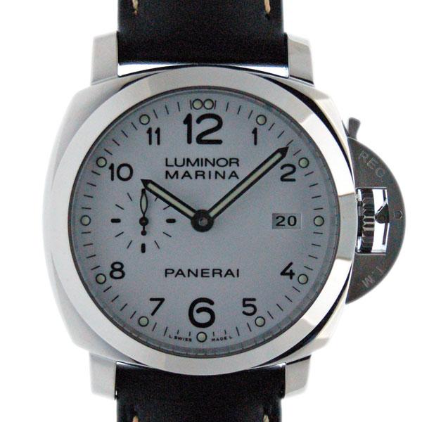 パネライ PANERAI ルミノール1950 3デイズ アッチャイオ PAM00499 SS 44mm ホワイト 新品