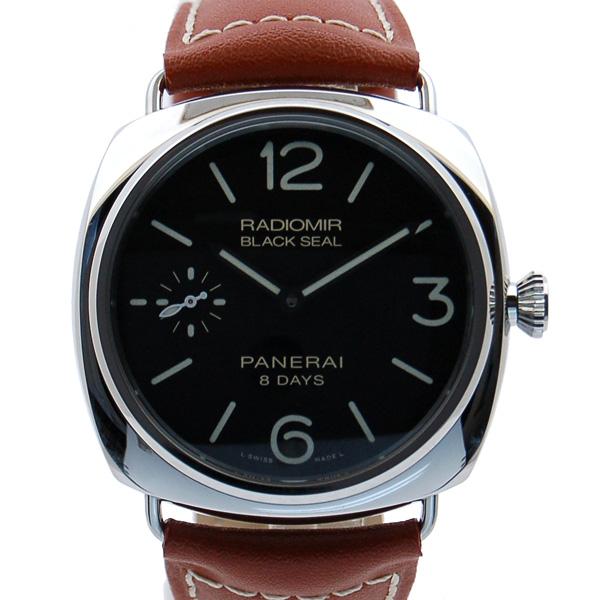 パネライ PANERAI ラジオミール ブラックシール 8デイズ アッチャイオ PAM00609 45mm 手巻き ブラック 新品