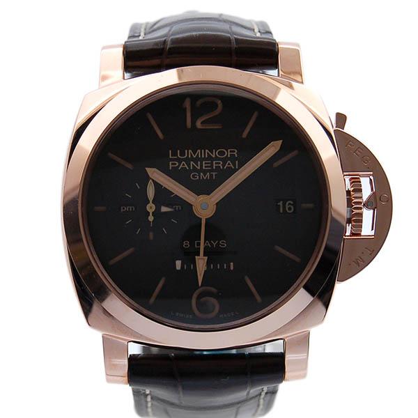 パネライ PANERAI ルミノール1950 8デイズ GMT オロロッソ PAM00576 RG ブラウン 新品
