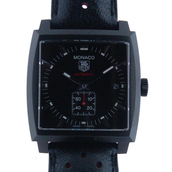 タグホイヤー TAG HEUER モナコ キャリバー6 フルブラック WW2119.FC6338 37mm 新品