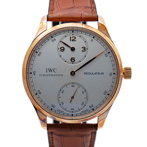 IWC ポルトギーゼ レギュレーター IW544402 ローズゴールド 新品アウトレット