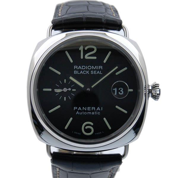 パネライ PANERAI ラジオミール ブラックシール 45mm PAM00287 自動巻 革ベルト USED 中古