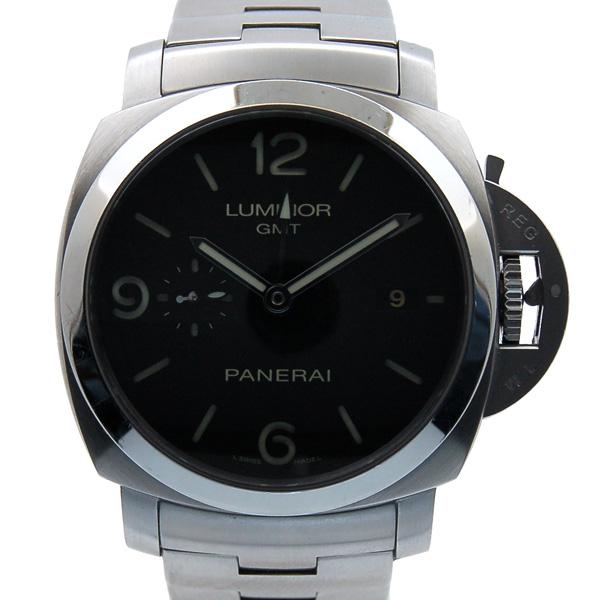 パネライ PANERAI ルミノール1950 3デイズ GMT PAM00329 44mm 自動巻 USED 中古