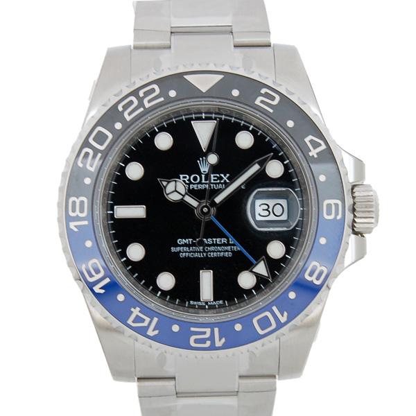 ロレックス ROLEX GMTマスター2 116710BLNR 40mm 自動巻 青/黒 正規 未使用品