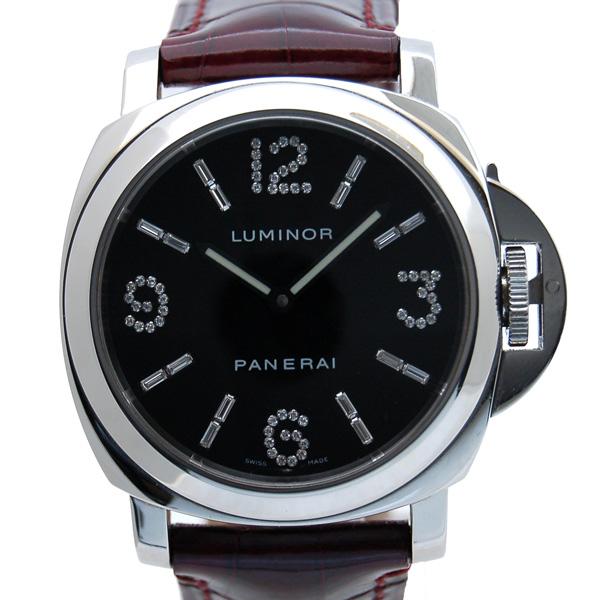 パネライ PANERAI ルミノールベース ダイヤモンドコレクション PAM00030 44mm USED 中古