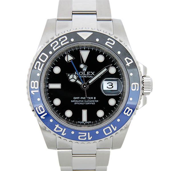 ロレックス ROLEX GMTマスター2 116710BLNR 40mm 自動巻 青/黒 日本正規 未使用品