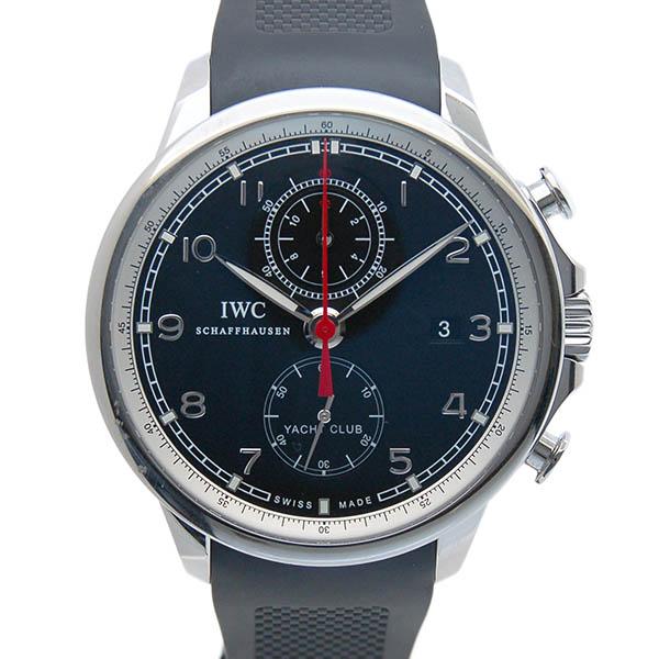 IWC インターナショナルウォッチカンパニー ポルトギーゼ ヨットクラブ IW390210 SS ブラック USED 中古
