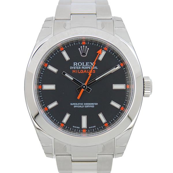 ロレックス ROLEX ミルガウス 116400 ブラック ランダム番 デッドストック 未使用品