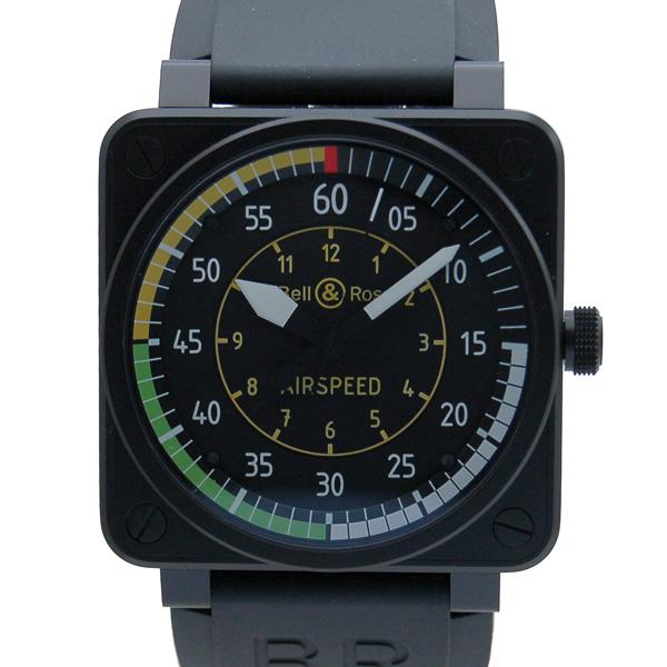 ベル&ロス BELL&ROSS BR01-92 AIRSPEED エアスピード ブラック 46mm ラバー PVD 999本限定 未使用