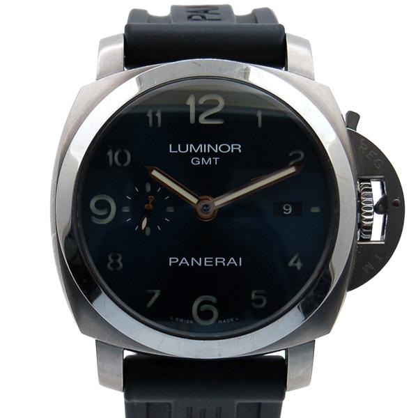 パネライ PANERAI ルミノール1950 3デイズ GMT PAM00437 ヨーロッパ15周年記念 100本限定 USED 中古