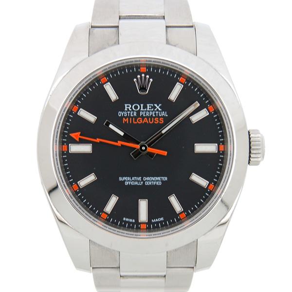 ロレックス ROLEX ミルガウス 116400 ブラック G番 SS USED 中古