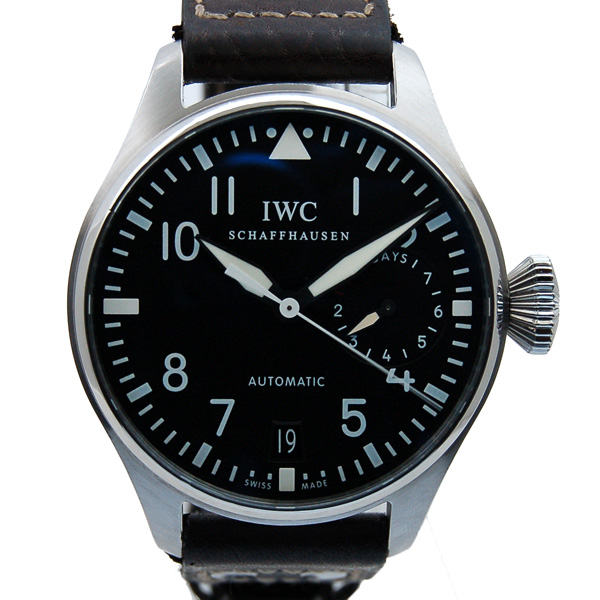 IWC インターナショナルウォッチカンパニー ビッグパイロットウォッチ 7デイズ IW500401 自動巻 46mm USED 中古