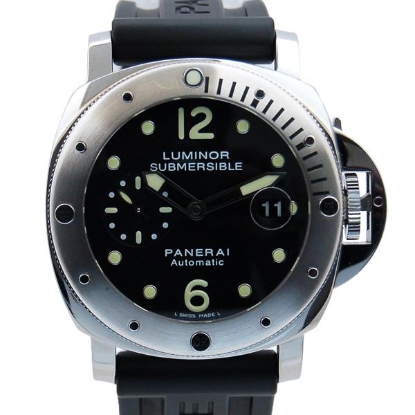 パネライ PANERAI サブマーシブル PAM00024 SS ブラック 44mm L番 USED 中古
