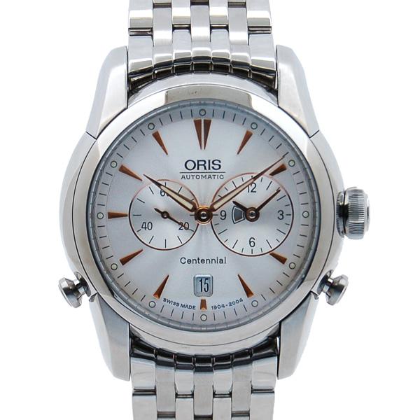 オリス ORIS アートリエ ワールドタイマー 100周年 リミテッドエディション 690 1904 4051 USED 中古