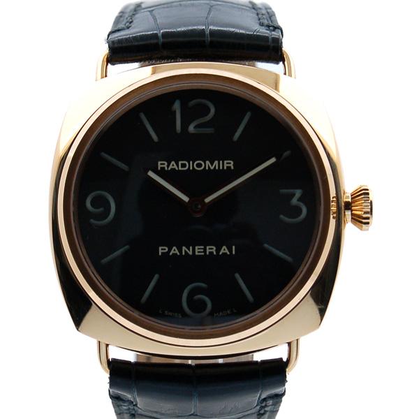 パネライ PANERAI ラジオミールベース 45mm PAM00231 18Kピンクゴールド 手巻き USED 中古