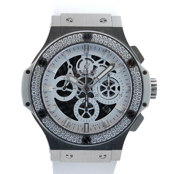 ウブロ HUBLOT アエロバン オールホワイト ダイヤモンド 311.SE.2010.RW.1104.JSM12 日本限定 USED 中古