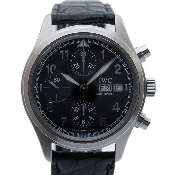 IWC スピットファイア クロノグラフ IW370613 自動巻 SS 39mm USED 中古