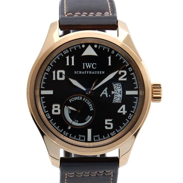 IWC パイロットウォッチ オートマティック サンテグジュベリ IW320103 ピンクゴールド ブラウン 500本限定 USED 中古