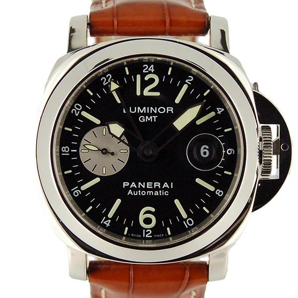 PAM00088 ルミノール GMT 自動巻き(ブラック)