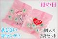 【母の日】【2袋セット】あじさいキャンディ 5個入り×2袋