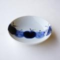 【和食器通販 金照堂】 波佐見焼敏彩窯 りんご園古代5寸皿